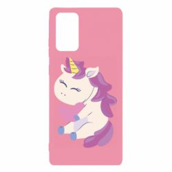 Чехол для Samsung Note 20 Unicorn with love