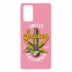 Чохол для Samsung Note 20 United smokers st relax California