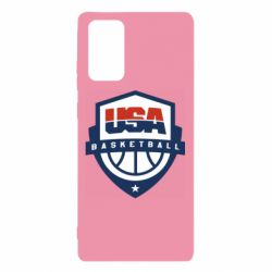Чехол для Samsung Note 20 USA basketball