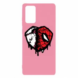 Чехол для Samsung Note 20 Venom and spiderman