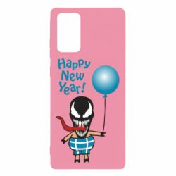 Чохол для Samsung Note 20 Venom pig with a ball wishes a happy new year