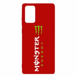 Чохол для Samsung Note 20 Вертикальний Monster Energy