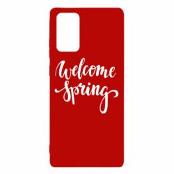 Чохол для Samsung Note 20 Welcome spring