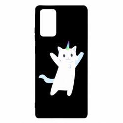 Чохол для Samsung Note 20 White cheerful cat