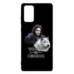 Чохол для Samsung Note 20 Winter is coming I