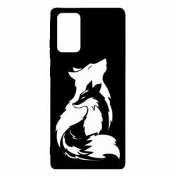 Чехол для Samsung Note 20 Wolf And Fox