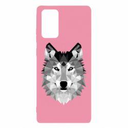 Чохол для Samsung Note 20 Wolf Art