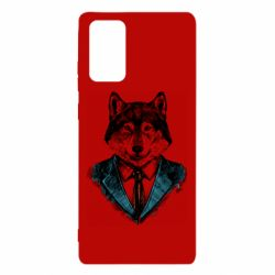 Чехол для Samsung Note 20 Wolf in costume