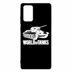 Чохол для Samsung Note 20 World Of Tanks Game