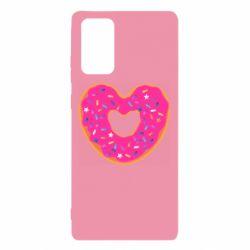 Чехол для Samsung Note 20 Я люблю пончик