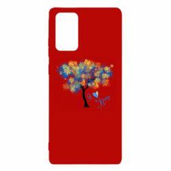Чохол для Samsung Note 20 Я люблю Україну і дерево
