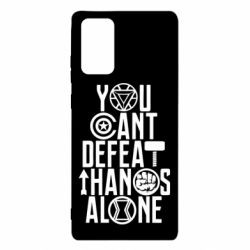 Чехол для Samsung Note 20 You can't defeat thanos alone