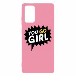 Чехол для Samsung Note 20 You go girl