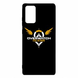 Чехол для Samsung Note 20 Your Nickname in the game Overwatch