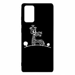 Чехол для Samsung Note 20 жираф