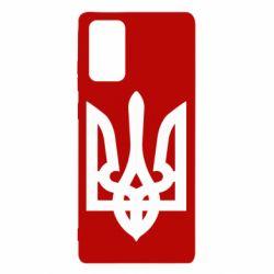 Чехол для Samsung Note 20 Жирный Герб Украины