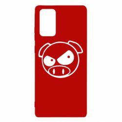 Чехол для Samsung Note 20 Злая свинка