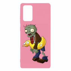 Чехол для Samsung Note 20 Zombie with a duck