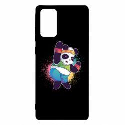 Чохол для Samsung Note 20 Zumba Panda