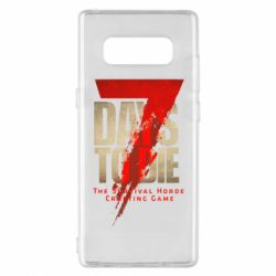 Чохол для Samsung Note 8 7 Days To Die
