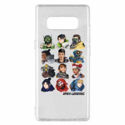 Чохол для Samsung Note 8 Apex legends heroes