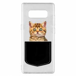 Чехол для Samsung Note 8 Cat in your pocket