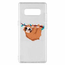 Чохол для Samsung Note 8 Cute sloth