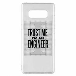 Чохол для Samsung Note 8 Довірся мені я інженер