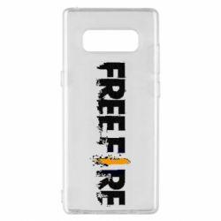 Чехол для Samsung Note 8 Free Fire spray