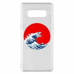 Чохол для Samsung Note 8 Godzilla Wave