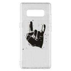 Чехол для Samsung Note 8 HEAVY METAL ROCK