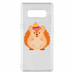 Чохол для Samsung Note 8 Little hedgehog in a hat