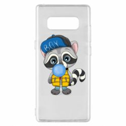 Чехол для Samsung Note 8 Little raccoon