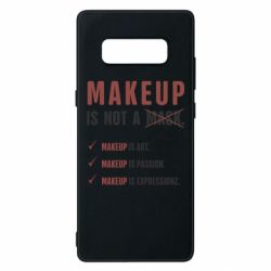 Чехол для Samsung Note 8 Make Up Is Not A Mask