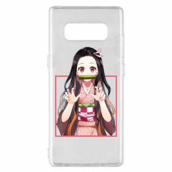Чохол для Samsung Note 8 Nezuko