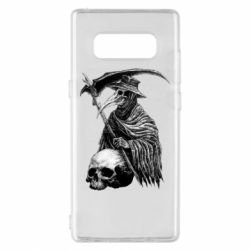 Чехол для Samsung Note 8 Plague Doctor graphic arts