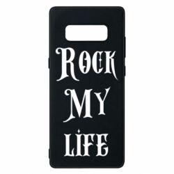 Чехол для Samsung Note 8 Rock my life