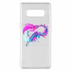 Чохол для Samsung Note 8 Sisu Water Dragon