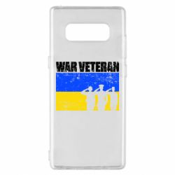 Чохол для Samsung Note 8 War veteran