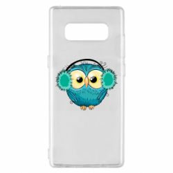 Чехол для Samsung Note 8 Winter owl