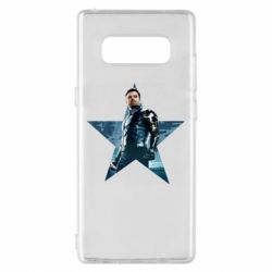 Чохол для Samsung Note 8 Winter Soldier Star