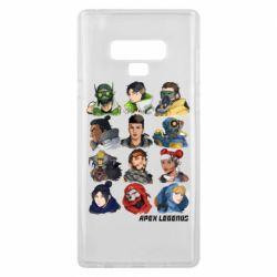 Чохол для Samsung Note 9 Apex legends heroes