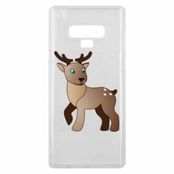Чехол для Samsung Note 9 Cartoon deer