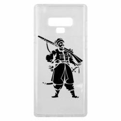Чехол для Samsung Note 9 Cossack with a gun