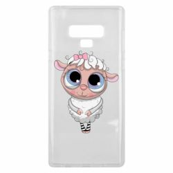 Чехол для Samsung Note 9 Cute lamb with big eyes