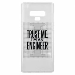 Чохол для Samsung Note 9 Довірся мені я інженер