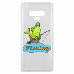 Чехол для Samsung Note 9 Fish Fishing