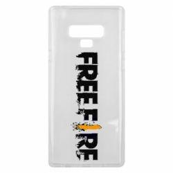 Чехол для Samsung Note 9 Free Fire spray