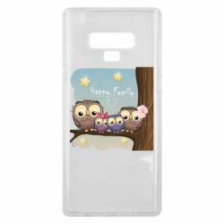 Чехол для Samsung Note 9 Happy family