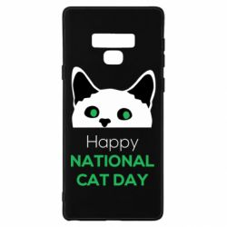 Чехол для Samsung Note 9 Happy National Cat Day